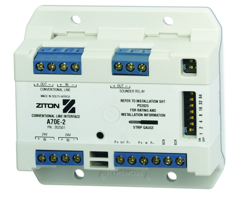 Ziton A70 conventional interface