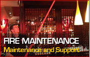Click here for Fire Maintenance information
