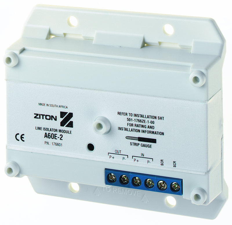 Ziton ZP7 A Series mini isolator unit