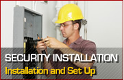 Click here for Security Installation information